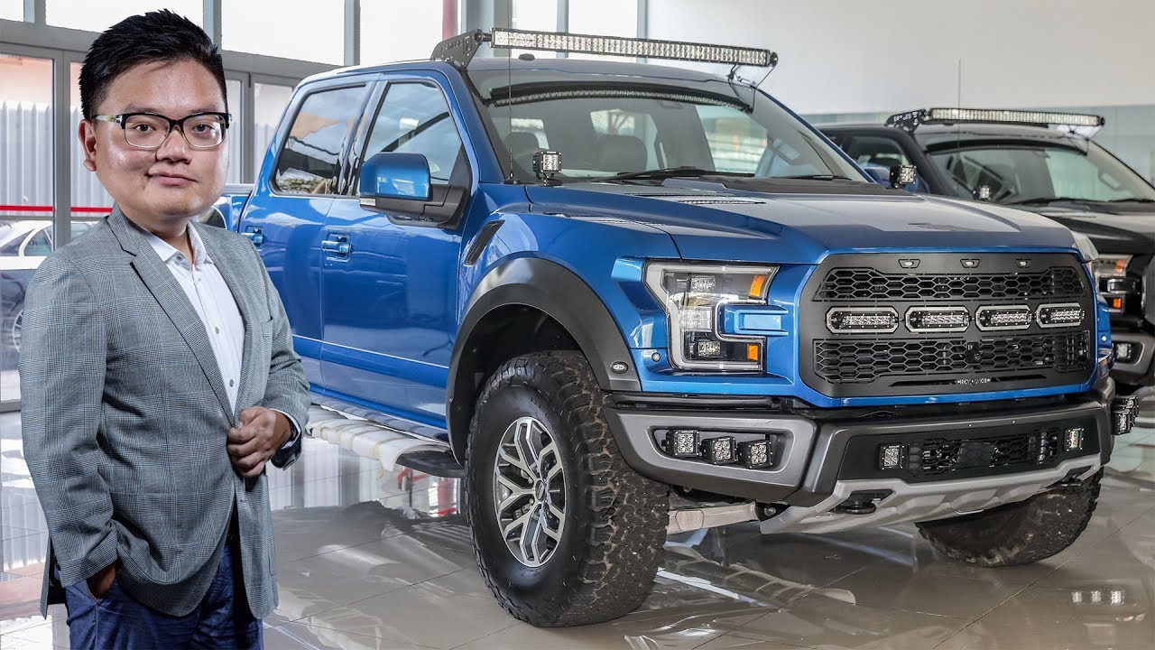 Ford F-150 Raptor now available in Malaysia - CKD right-hand drive
