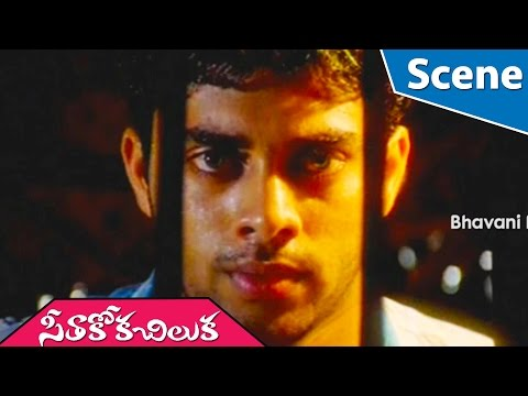 Sureka Vani Falling From Ladder || Seetakokachiluka Telugu Movie Scene thumbnail