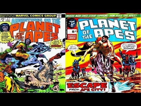 Marvel Comics - Planet of the Apes