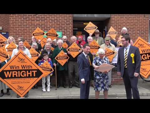 Campaign launch with Shirley Williams - 08/04/15