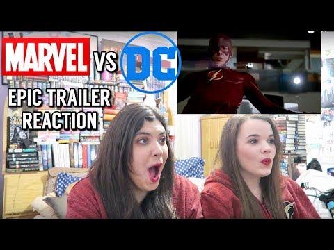 MARVEL VS DC EPIC TRAILER REACTION