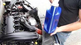 Comment faire une vidange sur moteur 1.6 THP
