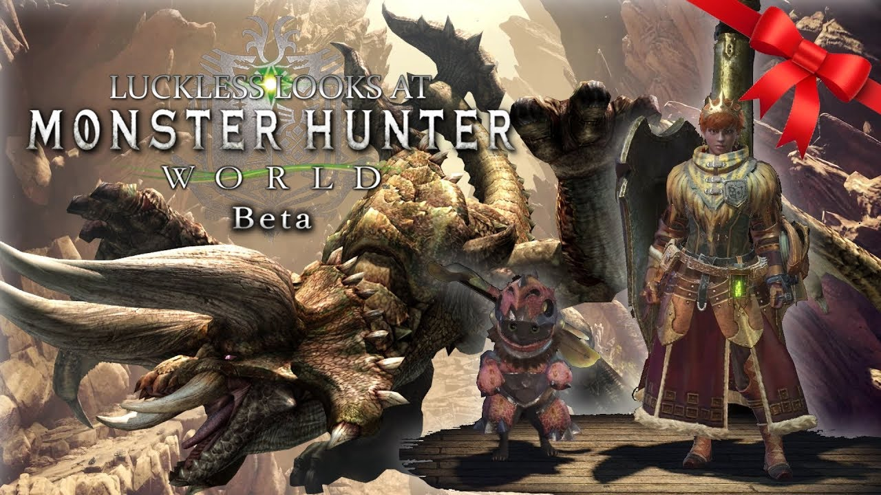 Diablos Co-op Lance Hunt - A Very Merry Monster Hunter World Christmas