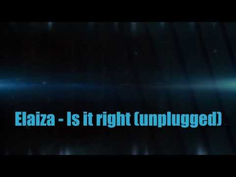 Elaiza - Is it right with lyrics and chords (Germany Eurovision Songcontest 2014)