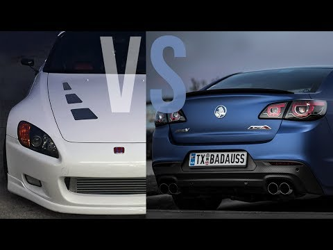 666WHP TURBO S2000 Vs 700WHP Holden SS & Eagle Talon (COPS)