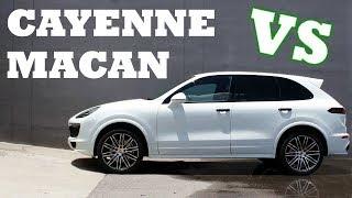 Porsche Macan VS Cayenne   Which is The BEST?