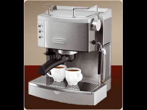 delonghi ec702 15barpump espresso maker stainless unbox review random curiosities episode 15 youtube - Delonghi Espresso Machine