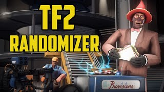 Rocket Jumping Heavy! TF2 Randomizer mod!