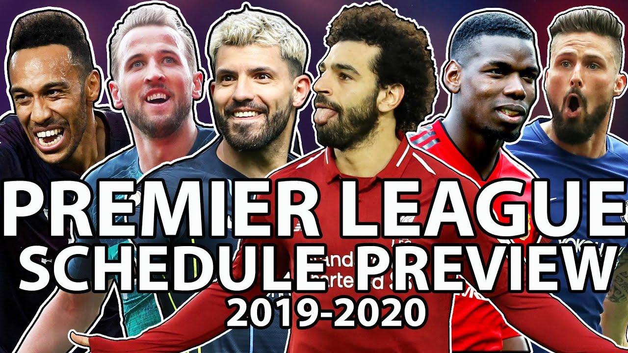 Premier League 2019-2020 schedule preview | NBC Sports