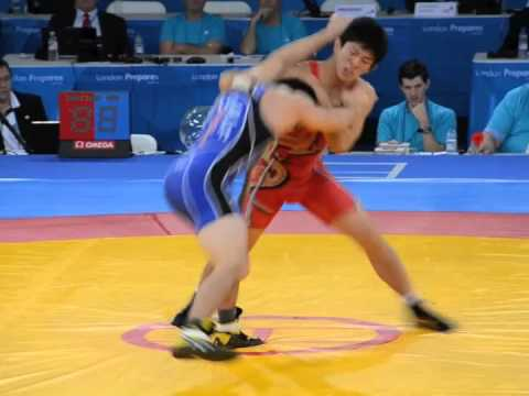 Brent Metcalf Olympic Test Event