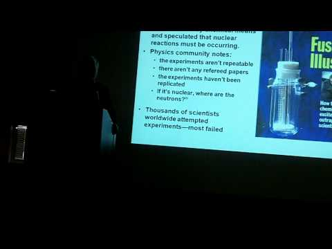 Frank Gordon - How Hot is Cold Fusion? Part 1
