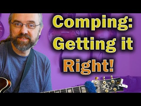 Comping is NOT only Voicings and Voice-leading