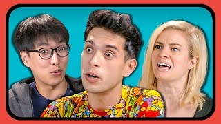 YOUTUBERS REACT TO SPONGEBOB SQUAREPANTS ANIME PART 2