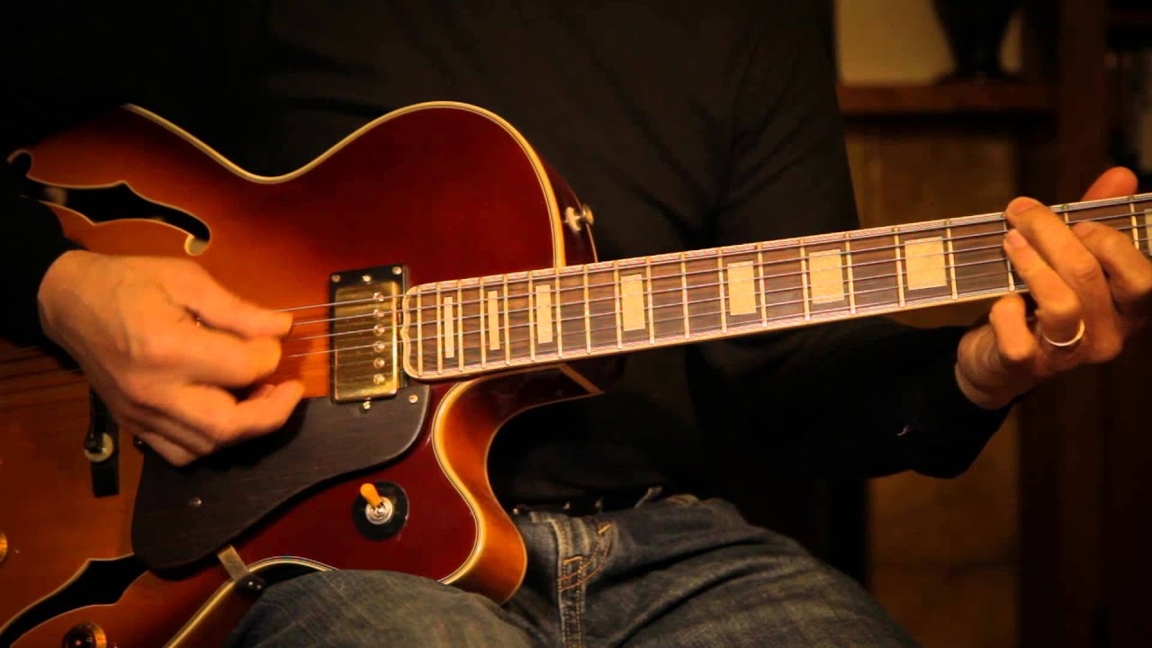 Satin Doll - EZ Improv Jazz Guitar Lesson - YouTube