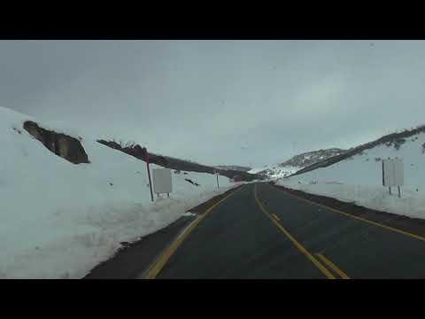 Driving to Perisher
