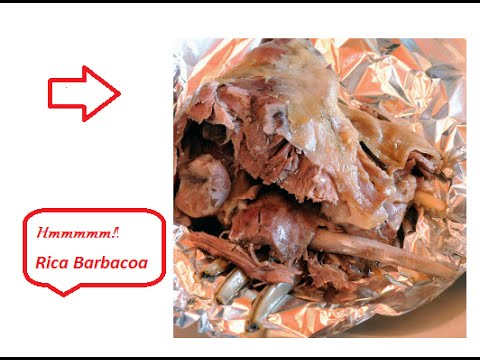 BARBACOA DE BORREGO/ Como hacer/EN CASA - YouTube