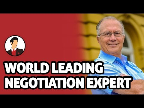 Powerful Advice From A World Leading Negotiation Expert With Prof. George Siedel | Salesman Podcast