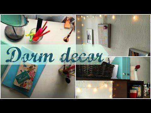 Späť na intrák - Dorm Decor | PauliBeauty