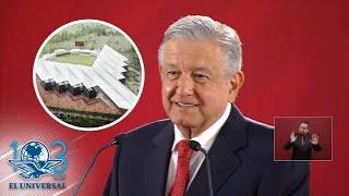 AMLO bromea sobre inauguración del Estadio de los Diablo Rojos de México