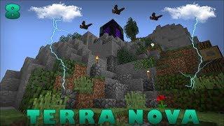 Minecraft: TERRA NOVA N°8: PORTAL EM RUÍNAS NAS MONTANHAS?!