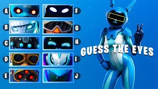 GUESS The EYES of The Skin! «FORTNITE CHALLENGE»