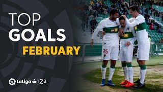 TOP Goles Febrero LaLiga 1 2 3 2018/2019
