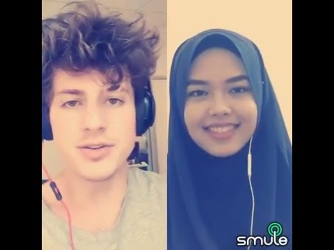 We Dont Talk Anymore  Charlie Puth & Sheryl Shazwanie duet on Smule app