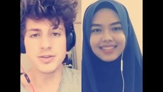 We Don't Talk Anymore - Charlie Puth & Sheryl Shazwanie (duet on Smule app) thumbnail