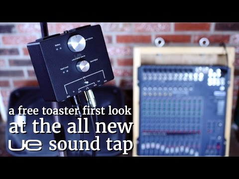 In Ear Stage Solutions: UE Sound Tap first look