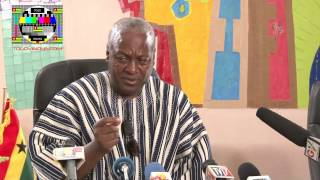 John MAHAMA: there can be only one winner but the whole of republic of Togo will be the winner