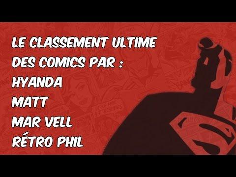 Le Top des Comics qui n'a pas de nom - épisode 1