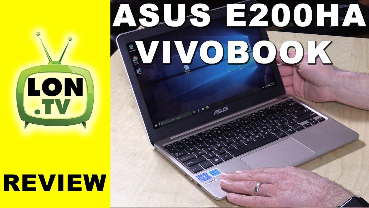 ASUS VivoBook E200HA Review - $199 Windows Laptop - compared to X205TA