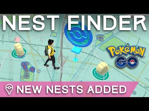 *NEW NESTS* IN POKÉMON GO - HOW TO FIND NEW NESTS NEAR YOU