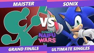 Naifu Wars 12 Grand Finals - SSG | Maister (Game & Watch) Vs. LGCY | Sonix (Sonic) SSBU Singles
