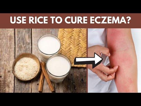 DIY Rice Water & Rice Mask Recipes | Natural Eczema Remedy Using Rice!