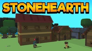 Stonehearth Gameplay Impressions 2017! - #3 A Message from the King!!