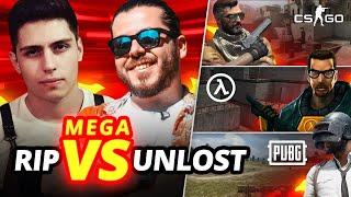 RIP vs UNLOST ! 1vs1 CS:GO, Half-Life, PUBG (Mega vs Serisi#2)