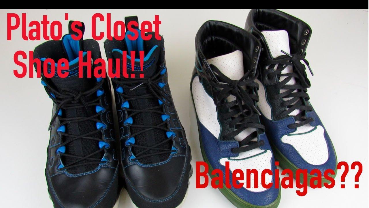 Plato S Closet Shoe Haul 2 New Shoe Pickups Major Steals