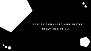 Gambar cover How to download and install cheat engine 6.3