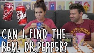 Cover images Taste Test Challenge: Dr. Pepper vs. Generic Brands (Vlogtober #3) | SoundProofLiz