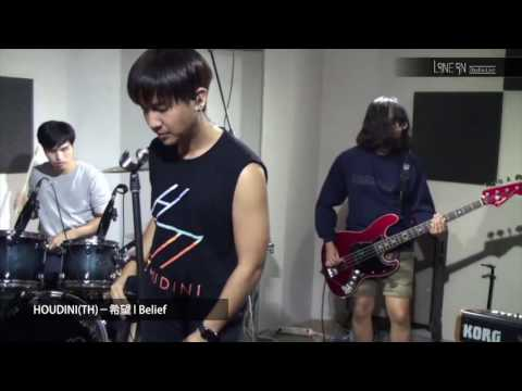 Line in Studio Live :HOUDINITH-希望 l Belief
