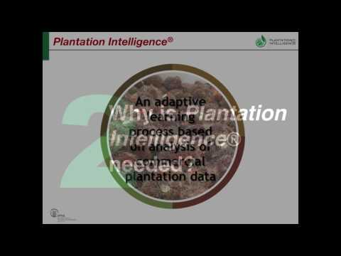 IPNI Webinar Series: Plantation Intelligence to Support Palm Oil Production