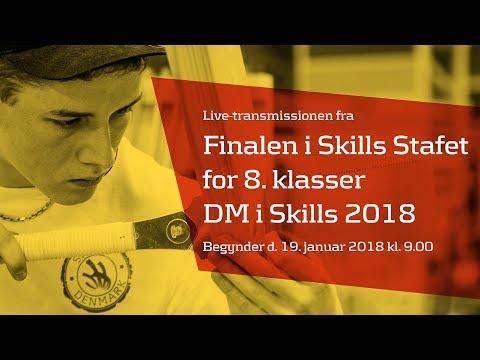Finalen i Skills Stafet for 8. klasser - DM i Skills 2018