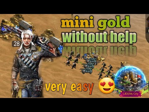 Last Empire War Z #mine Gold(high.level)without Help Very Easy 😍