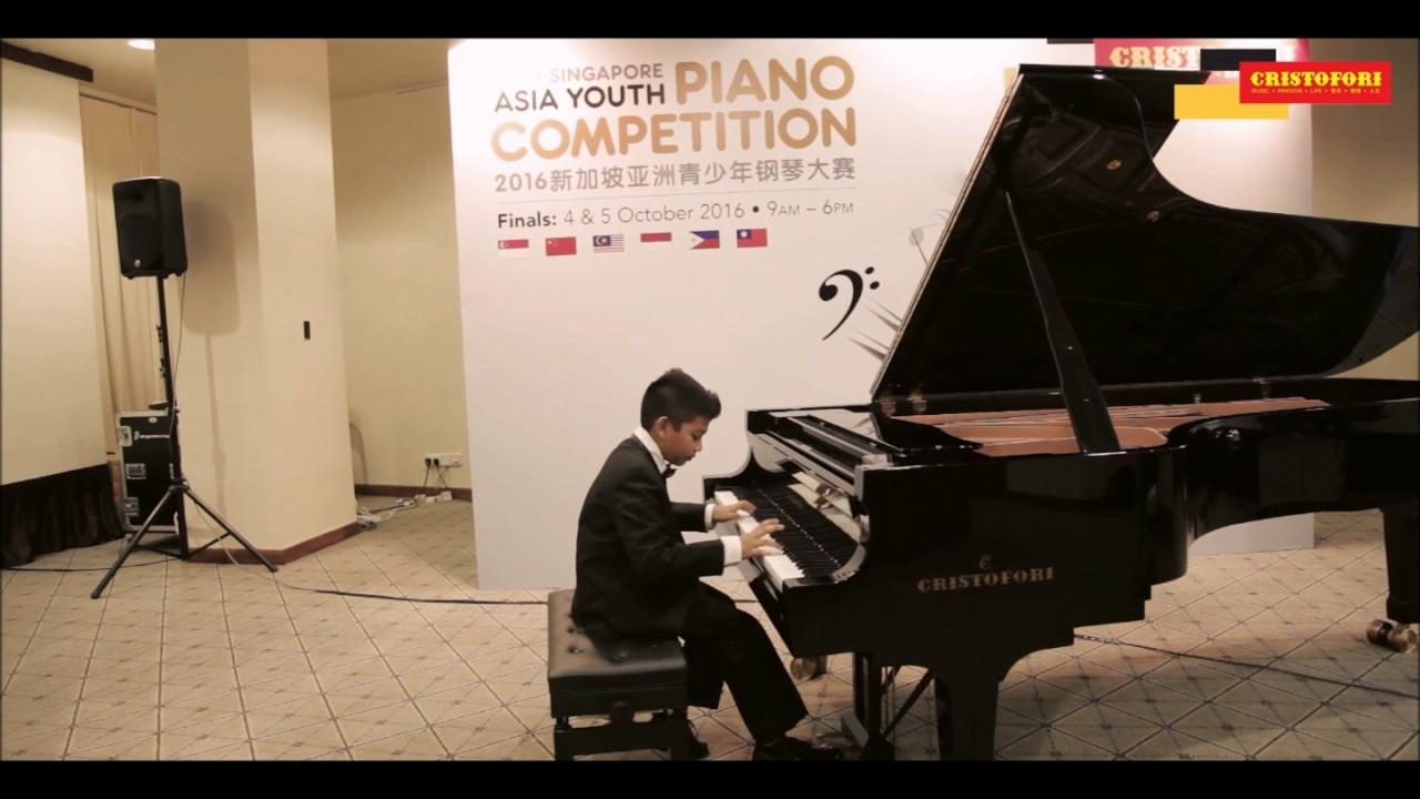 2016 Singapore Asia Youth Piano Competition - Cristofori Music School