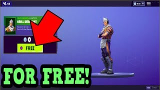 HOW TO GET GRILL SERGEANT SKIN FOR FREE! (Fortnite Old Skins)