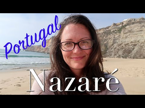 SOLO TRAVEL WITH TODDLER: Relaxing at the Beach in Nazare, Portugal