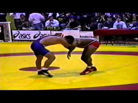 1994 Senior National Championships: 82 kg Final Gary Holmes vs. Justin Abdou