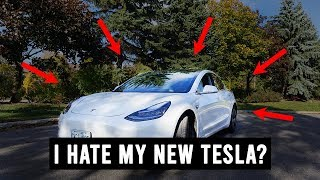 5 Things I HATE About My Tesla Model 3