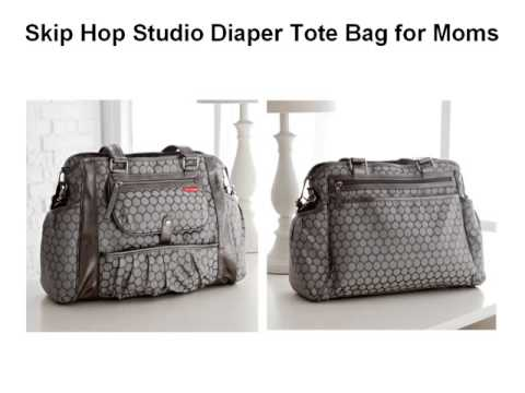94202e61fed4 Modern Baby Toddler - Skip Hop Studio Diaper Tote Bag - YouTube